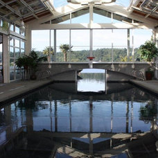 Traditional Pool by Aqualine Pool and Spa