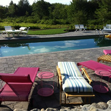 Traditional Pool by New England Landscapes, Inc.