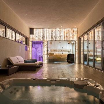 Project Sauna + Shower + Ice Machine
