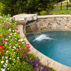 traditional pool by Property Masters