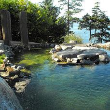 Asian Pool by KLLA Landscape Architects Inc.