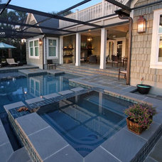 Contemporary Pool by Pools by John Clarkson