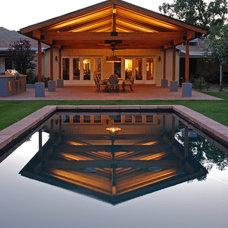 Traditional Pool by STARKJAMES, llc