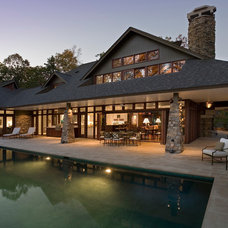 Contemporary Pool by Quantum Windows & Doors, Inc.