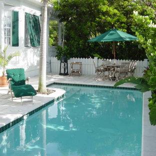 Foto di una piscina vittoriana
