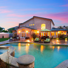 Traditional Pool by Aha Development Group, Inc.