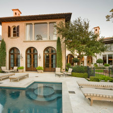 Traditional Pool by Stillwater Builders