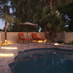 mediterranean pool by clemente design studio, llc