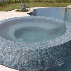 Modern Pool by Robert Allard Pool Contracting