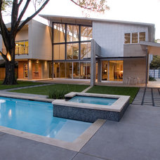 Modern Pool by Intexure Architects