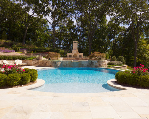 Walk in pool home design ideas pictures remodel and decor for Walk in pool designs