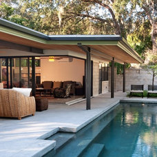Midcentury Pool by Ray C. Moore, LLC
