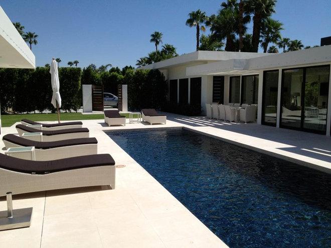 Modern Pool by Martin Kobus Home