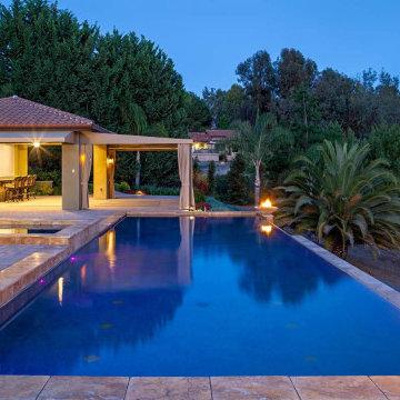 Rancho Santa Fe backyard