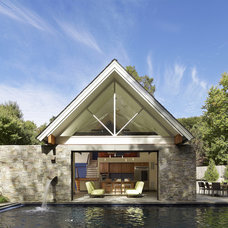 Contemporary Pool by Randall Mars Architects