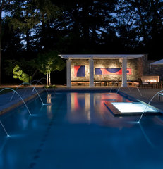 eclectic pool by Randy Thueme Design Inc. - Landscape Architecture