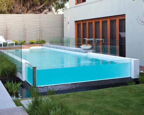 Backyard Above Ground Pool Designs aboveground pool ideas & design photos | houzz