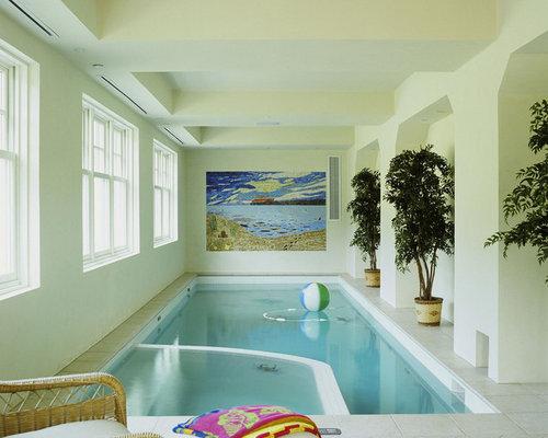 Indoor Pool Design indoor lap pool and spa Small Indoor Pool