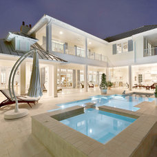 contemporary pool by Weber Design Group, Inc.