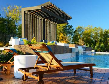 Rear Elevation/Pool