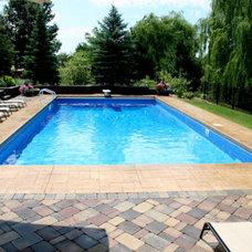 Traditional Pool by Prestige Pools