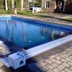 Black Liner Pool Merrimac Massachusetts Traditional