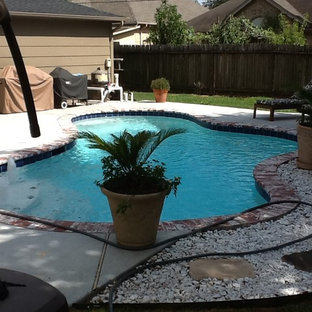 Recycled pool