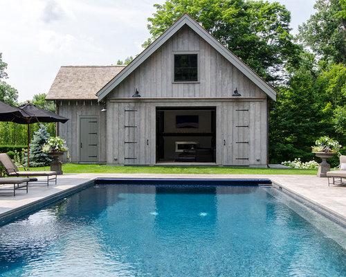 ideen fr kleine landhausstil pools in new york - Hinterhof Mit Pooldesignideen