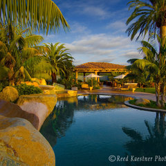 tropical pool by Reed Kaestner Photography