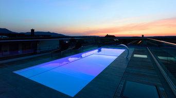 Referenzprojekt: Schwimmbecken über den Dächern