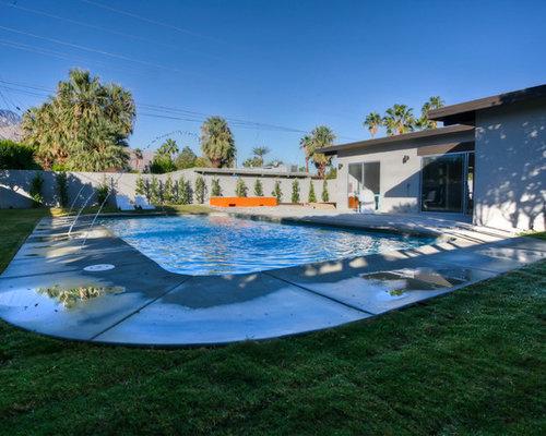 Midcentury garden and outdoor design ideas renovations Baldwin city swimming pool baldwin city ks