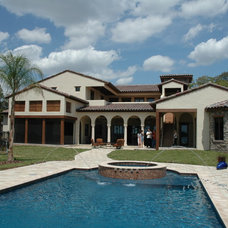 Mediterranean Pool by Keesee and Associates, Inc.