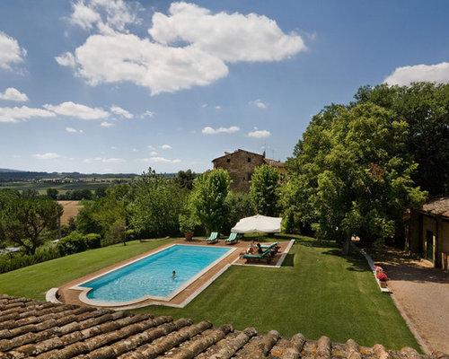 Roman-Style Pool | Houzz