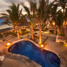 Tropical Pool by Salina del Mar