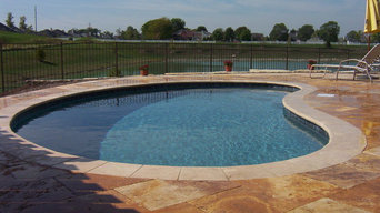 Residential gunite pools