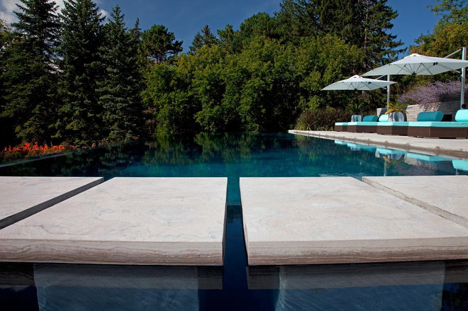 Contemporary Pool by Peter A. Sellar - Architectural Photographer