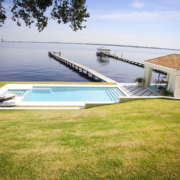Residential Pools Jacksonville - Linear Pools