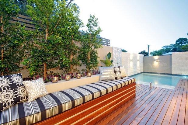 Backyard garden design plans - E Deep 11 Reasons To Buy A Plunge Pool