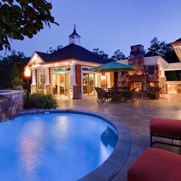 Resort Style Custom Pools with Modern Design