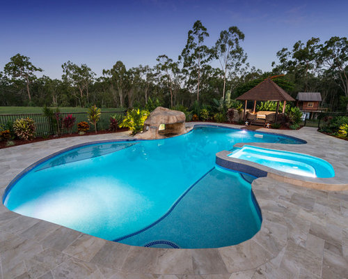 Tropical gold coast tweed outdoor design ideas remodels for Pool design gold coast