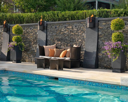 Waterline Pool Tiles Home Design Ideas Pictures Remodel