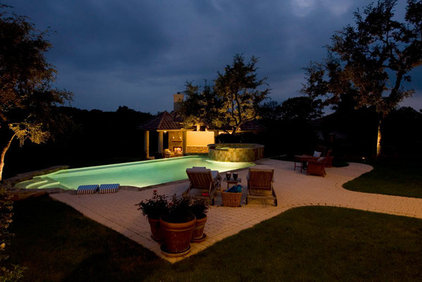 Mediterranean Pool by Richens Designs, Inc.