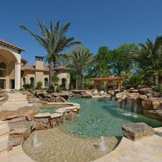 Mediterranean Pool by Patrick Berrios Designs