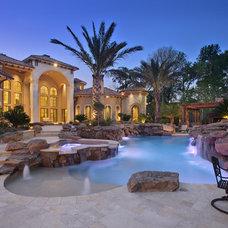 Mediterranean Pool by Patrick Berrios Designs
