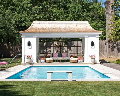 Cool pool cabanas splash zone pools for Cabana bathroom ideas