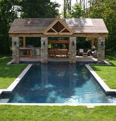 contemporary pool by Ridge Pools