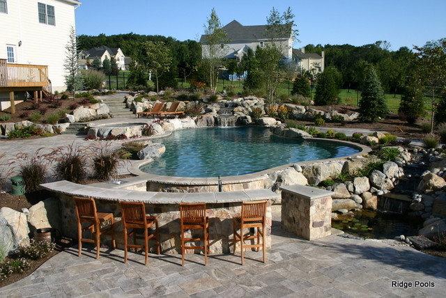 Mediterranean Pool by Ridge Pools