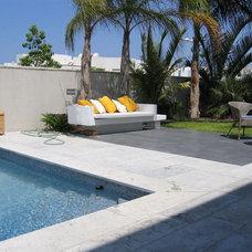Modern Pool by Rina Magen