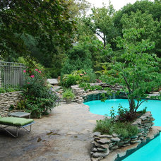 Traditional Pool by Landscapes by Dallas Foster, Inc
