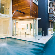 Contemporary Pool by Project Designs Architects